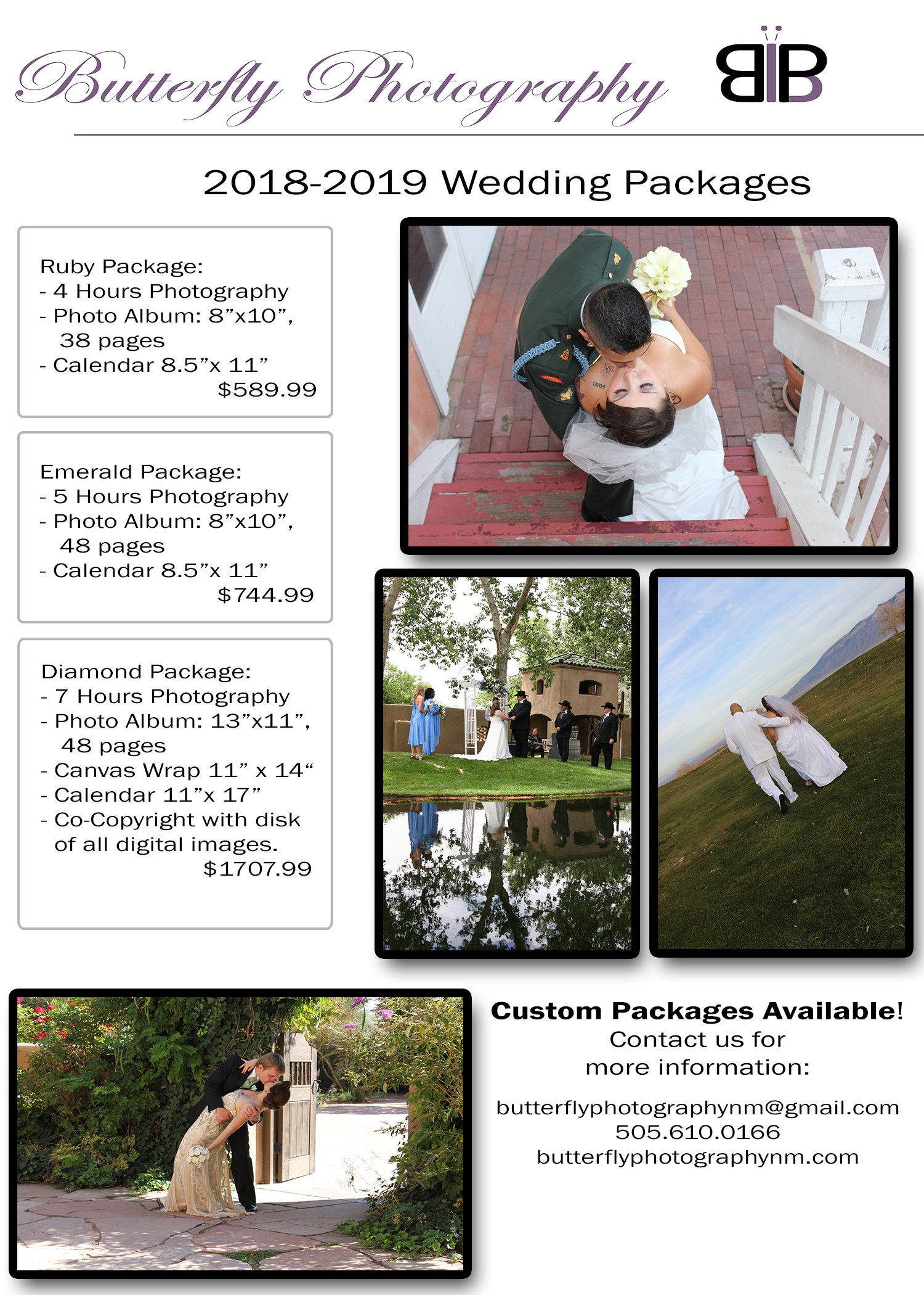 Wedding Packages Flyer